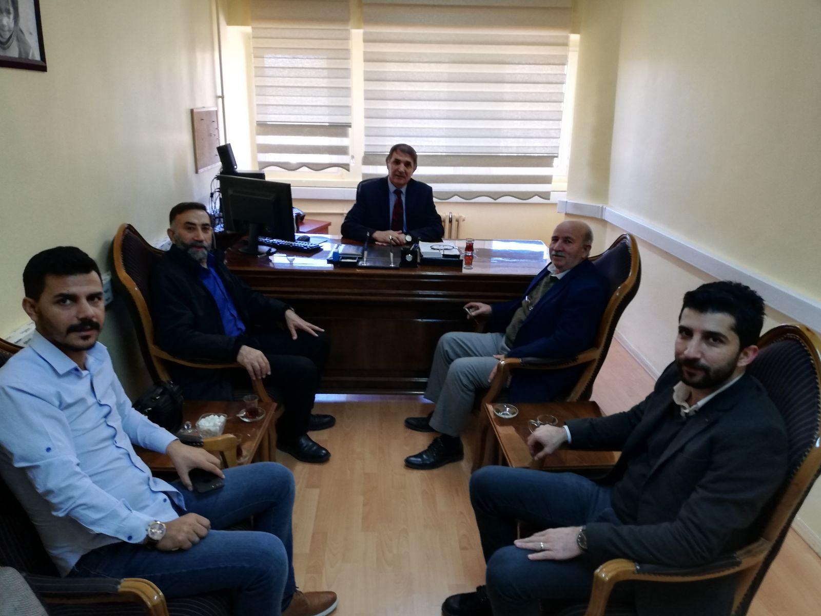 Sağlık Bilimleri Enstitüsü sekreterliğine atanan üyemiz Burhan KOÇ beyefendiyi tebrik ediyoruz