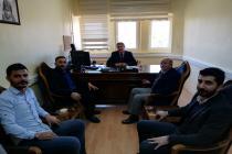Sağlık Bilimleri Enstitüsüne Enstitü Sekreteri olarak atanan üyemiz Burhan KOÇ Beyi ziyaret ettik